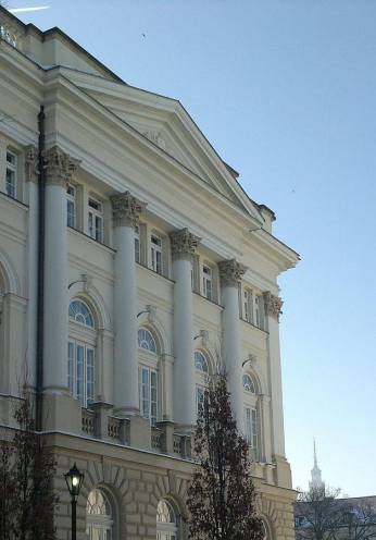 'Old' BUW building, University of Warsaw